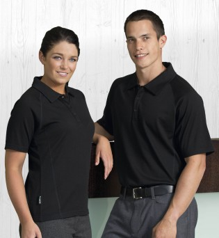 Merino Short Sleeve Polo - Mens or Womens